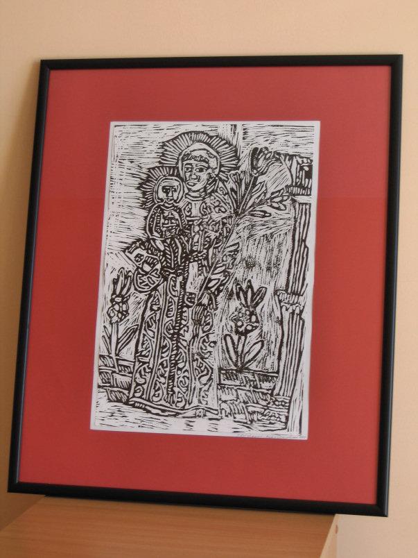 Maciej Kretschmann, grafika, wymiary 42cm x28cm