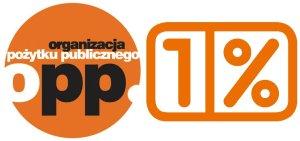 """Fundacja na rzecz Hematologii - Logo """"1 procent OPP"""""""