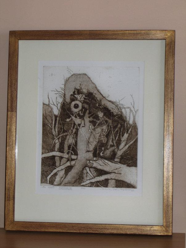 Izabela Walicka, wymiary 24cm x 19cm