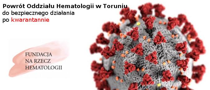 zbiórka koronawirus oddział hematologii